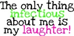 Infectious Laughter green/pink