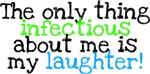 Infectious Laughter green/blue
