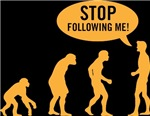 Evolution is following me (yellow)