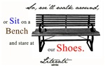 Literati - So, we'll walk around, or sit on a benc