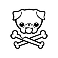 Puggly Pirate 1