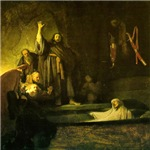 Rembrandt Raising Lazarus