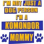 Komondor Mommy