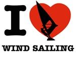 I love Water sailing