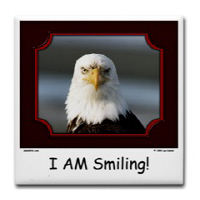 The I AM Smiling! Bald Eagle Collection