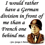 Patton Quote - German division in front of me