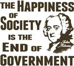 Adams Quote - End of Government