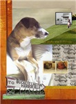 Dog Art Greeting Cards