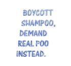 Boycott shampoo
