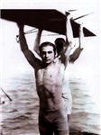 Rudolph Valentino Swimsuit Pin-up