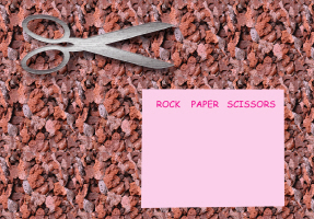 HUMOR/ROCK,PAPER,SCISSORS