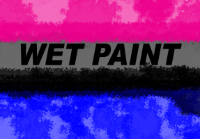 HUMOR/WET PAINT BLACK