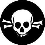 Goth Skull & Crossbones