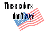 Pro-USA - These colors don't run!