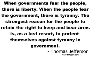 Jefferson: Fear the people