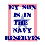 My son is in the Navy Reserves