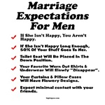 Marriage Expectations For Men