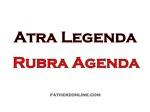 Atra Legenda Rubra Agenda