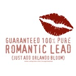 100% Pure Romantic Lead - Orlando Bloom Design