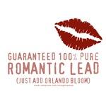 100% Pure Romantic Lead - Orlando Bloom Design