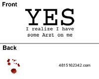 Arzt on me