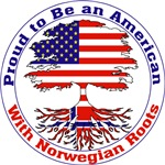 Proud to be an American with Norwegian Roots