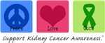 Peace Love Cure Kidney Cancer