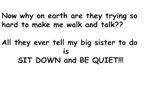 Baby Talk Sister