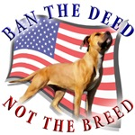 Ban the deed not the breed design