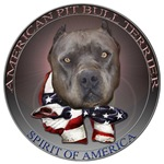 spirit of america pit bull design