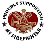 Proudly Supporting my Firefighter