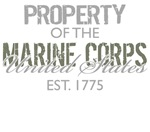 Property of the US Marine Corps (Green)