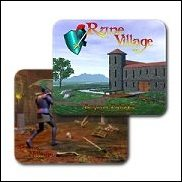 Rune Village Mouse Pads