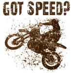 Got Speed? Dirt Motorcyclce Racing Gifts.