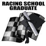 Racing School Graduate. Automotive gifts.
