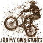 Mountain Bike, BMX, MBT, Do My Own Stunts T-shirts