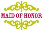 Maid of Honor (Hot Pink and Lime)