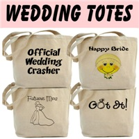 Wedding Tote, Attendant Gifts