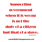 Supporting Government