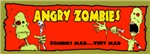 ZOMBIE STICKERS & MAGNETS