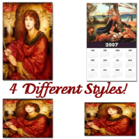 Calendars ~ Four Styles