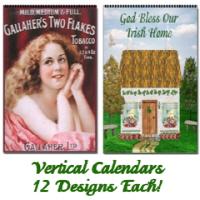 12 Month Vertical Wall Calendars