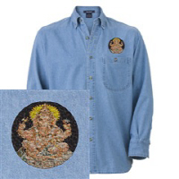 Embroidered Denim Shirts