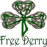 Free Derry Shamrock