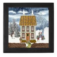 Christmas Keepsake Boxes (Choice of Two Colors)
