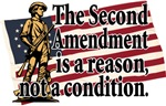 The Second Amendment is a reason, not a condition