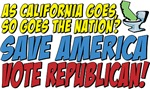 Save America, Vote Republican!