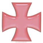 Iron Cross Pink