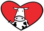 Valentine Cow Love