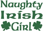Naughty Irish Girl T-Shirts
